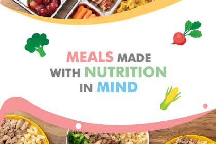 Gourmetz Catering Promotion Meals Made With Nutrition in Mind