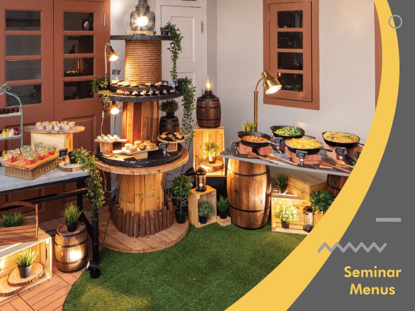 Gourmetz Catering Seminar Menus