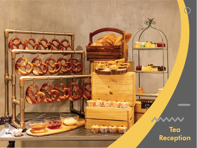 Gourmetz Tea Reception